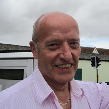Trevor Sheldrick - new Liberal Democrat county councillor for Hadleigh Sep 16