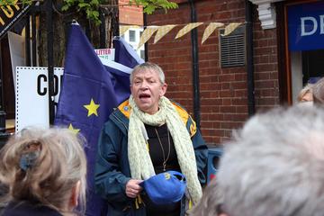 Caroline Page EU campaign