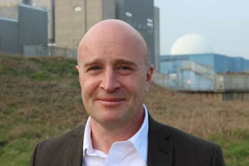 Andrew Turner at Sizewell