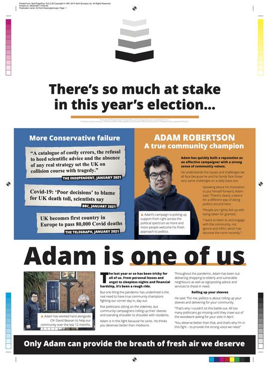 Adam Robertson Election 2021 (East Suffolk Lib Dems)
